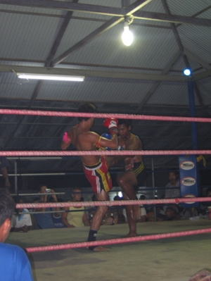 Thai Boxe dojo Ruan