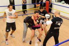 Milano,15/10/2015 Pink boxing Ph Taddei/Edizionivero