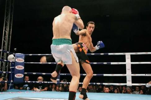 davide passaretti dojo ruan boxing kick and punch
