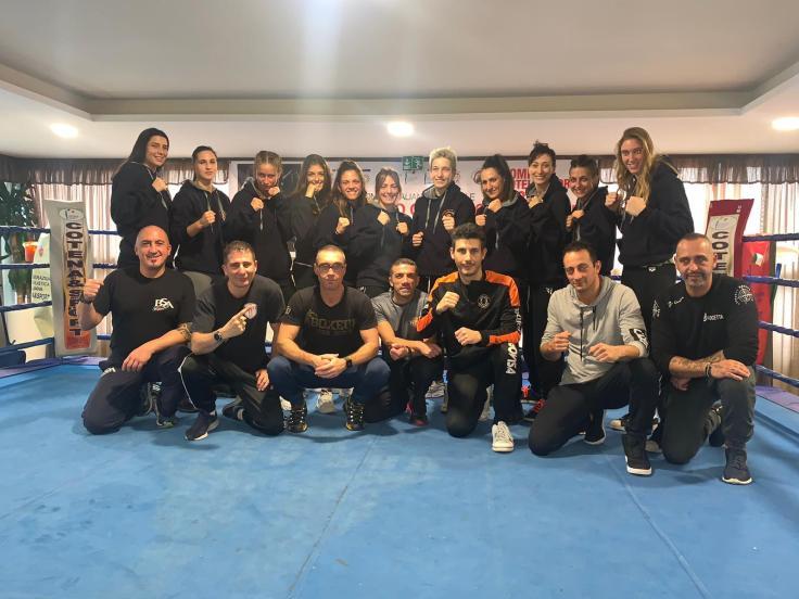 Squadra LombardiaCampionato italiano Femminile di pugilato olimpionico a squadre Women Boxing League 2019 asd ruan boxing