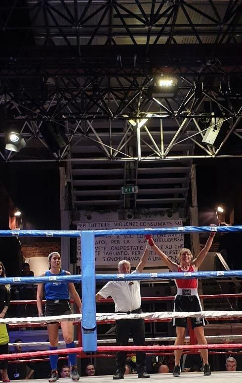 simona monteverdi codice rosso asd ruan boxing
