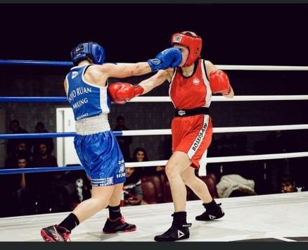 Cecilia Attalla asd Ruan Boxing Milano